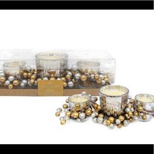 3pk Glass Jar Candle Set Chesapeake Bay Candle